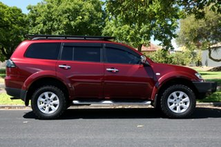 2009 Mitsubishi Challenger PB (KH) MY10 XLS Red 5 Speed Sports Automatic Wagon