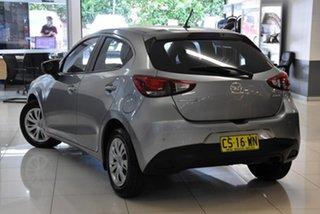 2016 Mazda 2 DJ2HAA Neo SKYACTIV-Drive Silver 6 Speed Sports Automatic Hatchback.