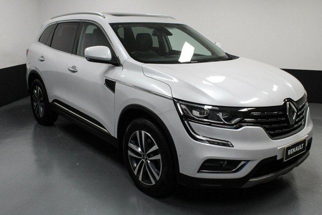 Used Renault Koleos HZG Intens X-tronic Hamilton, 2017 Renault Koleos HZG Intens X-tronic White 1 Speed Constant Variable Wagon