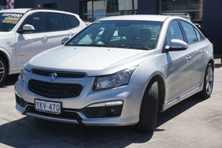 2015 Holden Cruze JH Series II MY15 SRi-V Silver 6 Speed Sports Automatic Sedan