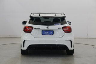 2016 Mercedes-Benz A-Class W176 807MY A45 AMG SPEEDSHIFT DCT 4MATIC White 7 Speed