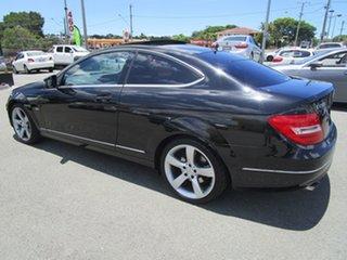 2012 Mercedes-Benz C250 CGI BEW204 MY11 Black Coupe.
