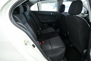 2016 Mitsubishi Lancer CF MY16 GSR Sportback White 6 Speed Constant Variable Hatchback