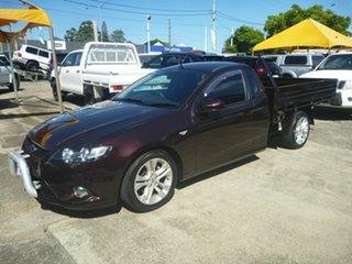 2009 Ford Falcon FG XR6 Super Cab Purple 5 Speed Sports Automatic Cab Chassis.