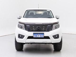 2018 Nissan Navara D23 Series II ST (4x4) White 7 Speed Automatic Dual Cab Utility.