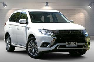 2019 Mitsubishi Outlander ZL MY19 PHEV AWD ES ADAS White 1 Speed Automatic Wagon Hybrid.