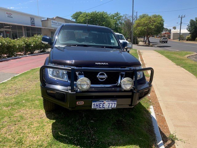 Used Nissan Navara D40 ST (4x4) Katanning, 2013 Nissan Navara D40 ST (4x4) Blue 5 Speed Automatic Dual Cab