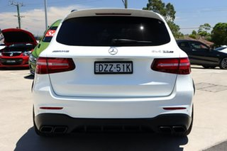 2018 Mercedes-Benz GLC-Class X253 GLC63 AMG SPEEDSHIFT MCT 4MATIC+ S White 9 Speed Sports Automatic