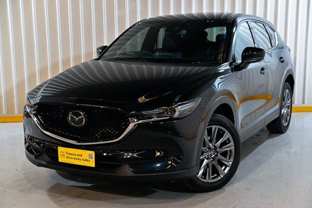 Used Mazda CX-5 KF4WLA Akera SKYACTIV-Drive i-ACTIV AWD Hendra, 2018 Mazda CX-5 KF4WLA Akera SKYACTIV-Drive i-ACTIV AWD Black 6 Speed Sports Automatic Wagon