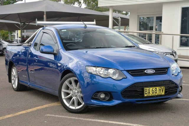 Used Ford Falcon FG MkII XR6 Ute Super Cab North Gosford, 2013 Ford Falcon FG MkII XR6 Ute Super Cab Blue 6 Speed Manual Utility