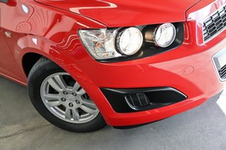 2016 Holden Barina TM MY16 CD Red 6 Speed Automatic Hatchback.