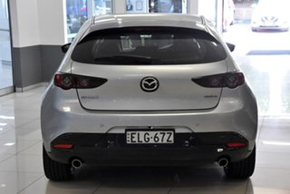 2020 Mazda 3 BP2H7A G20 SKYACTIV-Drive Touring Silver 6 Speed Sports Automatic Hatchback.