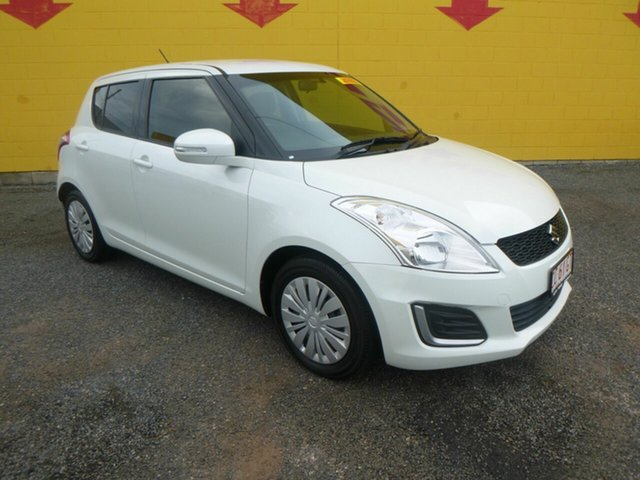 Used Suzuki Swift FZ MY15 GL Winnellie, 2016 Suzuki Swift FZ MY15 GL White 4 Speed Automatic Hatchback