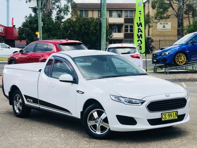 Used Ford Falcon FG X Ute Super Cab Liverpool, 2015 Ford Falcon FG X Ute Super Cab White 6 Speed Sports Automatic Utility