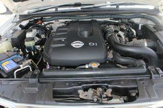 2011 Nissan Navara D40 ST (4x4) White 6 Speed Manual Dual Cab Pick-up