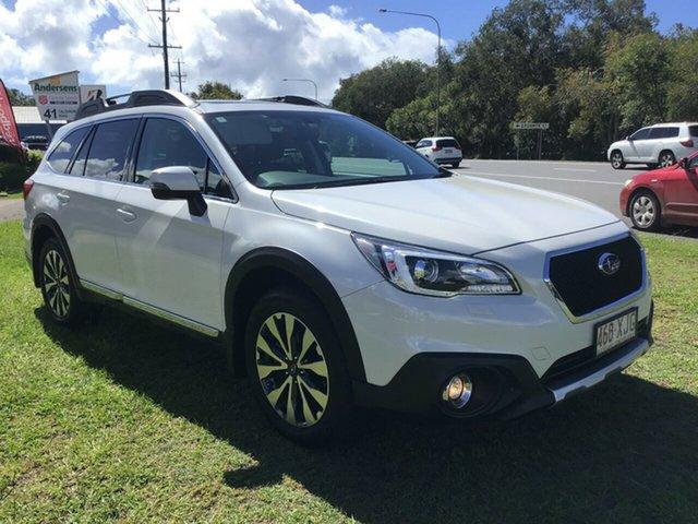 Used Subaru Outback B6A MY18 3.6R CVT AWD Caloundra, 2017 Subaru Outback B6A MY18 3.6R CVT AWD White 6 Speed Constant Variable Wagon