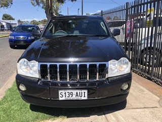 2006 Jeep Grand Cherokee WH Limited (4x4) Black 5 Speed Automatic Wagon.