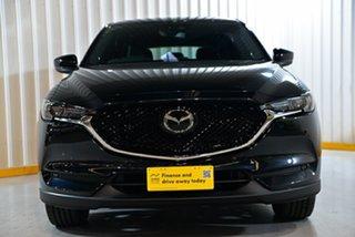 2018 Mazda CX-5 KF4WLA Akera SKYACTIV-Drive i-ACTIV AWD Black 6 Speed Sports Automatic Wagon.