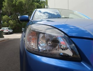 2009 Kia Rio JB MY07 EX Blue 4 Speed Automatic Hatchback