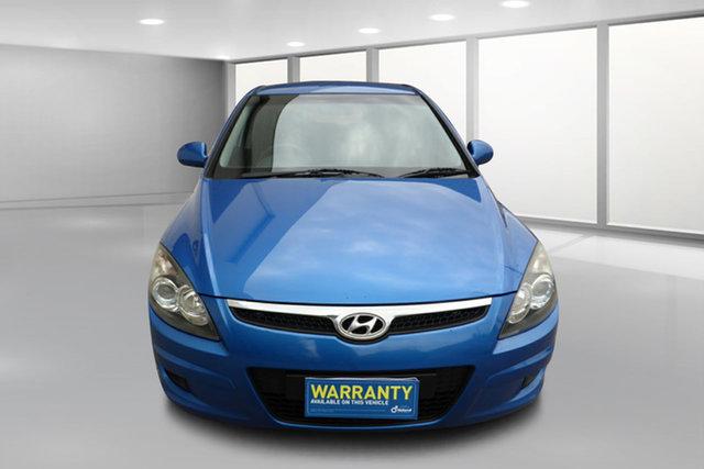 Used Hyundai i30 FD MY11 SX West Footscray, 2011 Hyundai i30 FD MY11 SX Blue 4 Speed Automatic Hatchback