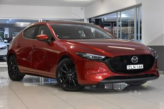 2020 Mazda 3 BP2HLA G25 SKYACTIV-Drive Astina Red 6 Speed Sports Automatic Hatchback
