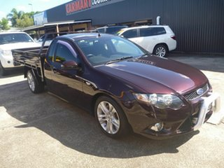 2009 Ford Falcon FG XR6 Super Cab Purple 5 Speed Sports Automatic Cab Chassis