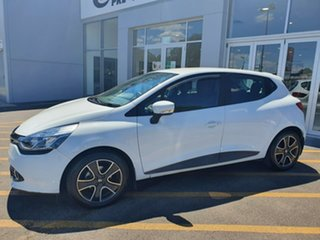 2015 Renault Clio IV B98 Expression EDC White 6 Speed Sports Automatic Dual Clutch Hatchback.