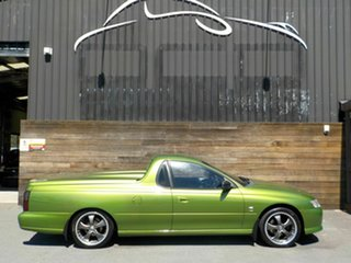 2002 Holden Ute VY S Green 4 Speed Automatic Utility.