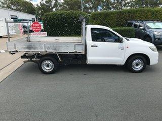 2014 Toyota Hilux KUN16R MY14 SR 4x2 Glacier 5 speed Manual Cab Chassis