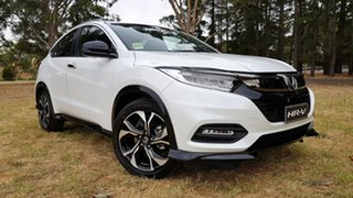 2020 Honda HR-V MY21 RS Platinum White 1 Speed Automatic Hatchback.