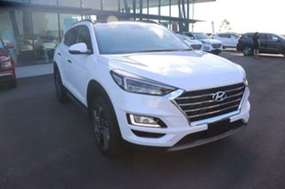 2020 Hyundai Tucson TL3 MY21 Highlander D-CT AWD White Pearl 7 Speed Sports Automatic Dual Clutch.