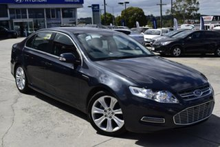 2011 Ford Falcon FG MkII G6E Grey 6 Speed Sports Automatic Sedan.