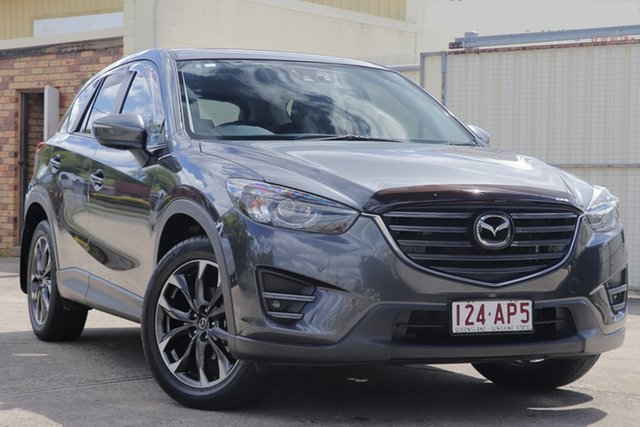 Used Mazda CX-5 KE1032 Akera SKYACTIV-Drive AWD Bundamba, 2016 Mazda CX-5 KE1032 Akera SKYACTIV-Drive AWD Grey 6 Speed Sports Automatic Wagon