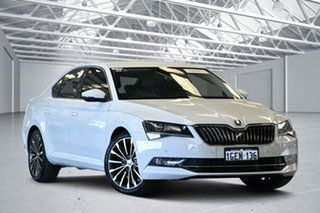 2016 Skoda Superb NP MY17 162 TSI White 6 Speed Direct Shift Sedan.