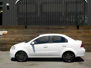 2007 Holden Barina TK MY07 White 4 Speed Automatic Sedan