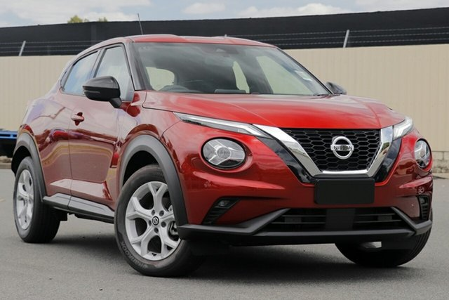 New Nissan Juke F16 ST+ DCT 2WD Burnie, 2020 Nissan Juke F16 ST+ DCT 2WD Fuji Sunset Red 7 Speed Sports Automatic Dual Clutch Hatchback