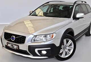 2016 Volvo XC70 BZ MY16 D5 Geartronic AWD Luxury Silver 6 Speed Sports Automatic Wagon