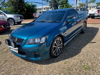 2012 Holden Commodore THUNDER Blue 6 Speed Manual Utility.