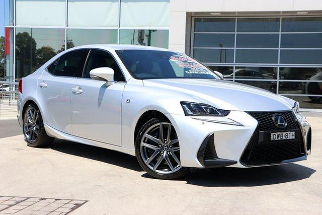 Used Lexus IS GSE31R IS350 F Sport Liverpool, 2018 Lexus IS GSE31R IS350 F Sport Silver 8 Speed Sports Automatic Sedan
