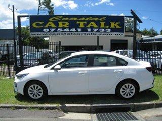 2020 Kia Cerato BD MY21 S White 6 Speed Automatic Sedan.