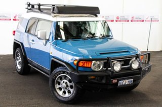 2012 Toyota FJ Cruiser GSJ15R Military Blue 5 Speed Automatic Wagon.