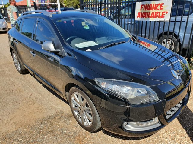 Used Renault Megane III K95 Phase 2 GT-Line Sportwagon EDC Premium Morphett Vale, 2014 Renault Megane III K95 Phase 2 GT-Line Sportwagon EDC Premium Black 6 Speed