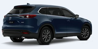 2020 Mazda CX-9 TC Touring SKYACTIV-Drive Deep Crystal Blue 6 Speed Sports Automatic Wagon.