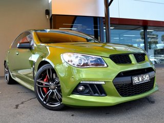 2015 Holden Special Vehicles ClubSport Gen-F MY15 R8 Green 6 Speed Sports Automatic Sedan.