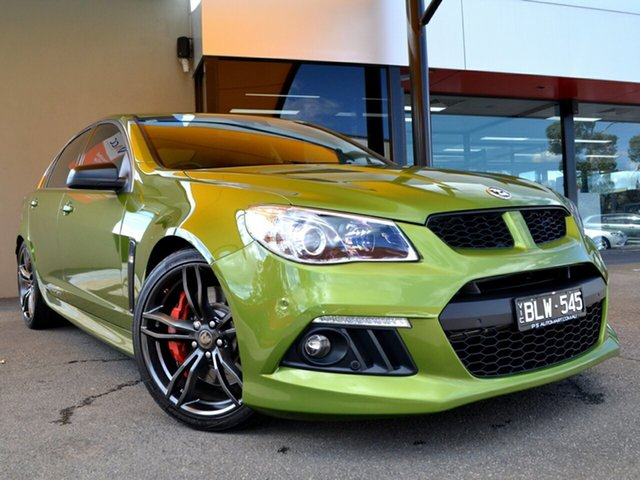 Used Holden Special Vehicles ClubSport Gen-F MY15 R8 Fawkner, 2015 Holden Special Vehicles ClubSport Gen-F MY15 R8 Green 6 Speed Sports Automatic Sedan
