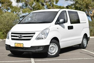 2015 Hyundai iLOAD TQ3-V Series II MY16 White 5 Speed Automatic Van.