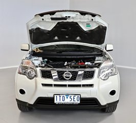 2012 Nissan X-Trail T31 Series V ST 2WD White 1 Speed Constant Variable Wagon