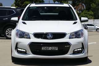 2015 Holden Commodore VF II SS-V Redline White 6 Speed Automatic Sedan