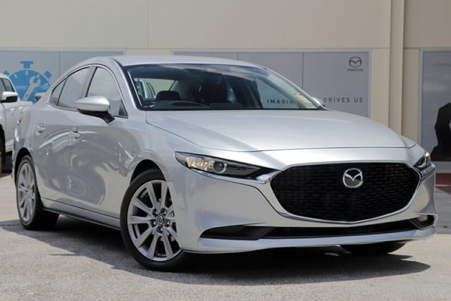 New Mazda 3 BP2S7A G20 SKYACTIV-Drive Evolve Hindmarsh, 2020 Mazda 3 BP2S7A G20 SKYACTIV-Drive Evolve Sonic Silver 6 Speed Sports Automatic Sedan