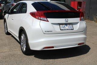 2013 Honda Civic FK VTi-L White 5 Speed Automatic Hatchback